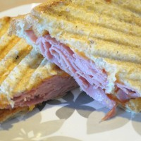 Corned Beef and Cheddar Panini Recipe